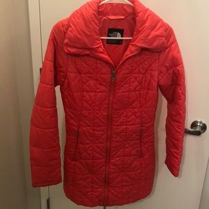 Puffer coat by The north face